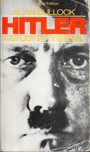 Cover of: Hitler: A Study in Tyranny