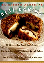Cover of: Elizabeth Alston's best baking