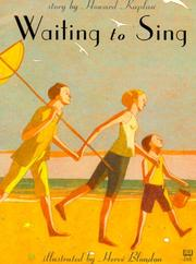 Cover of: Waiting to sing