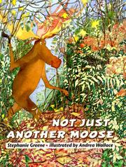 Cover of: Not just another moose