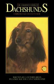 Cover of: Dr. Ackerman's book of Dachshunds