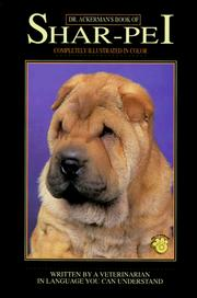 Cover of: Dr. Ackerman's book of Shar-Pei