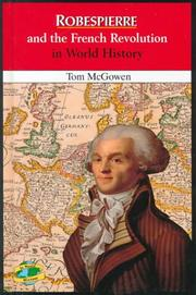 Cover of: Robespierre and the French Revolution in world history