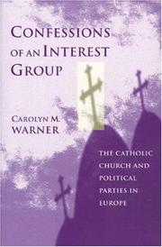 Cover of: Confessions of an interest group