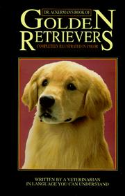 Cover of: Dr. Ackerman's book of the golden retriever