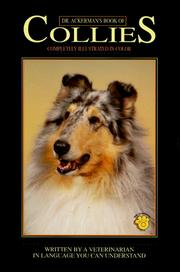 Cover of: Dr. Ackerman's book of collies