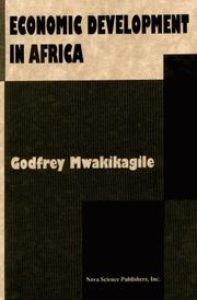 Cover of: Economic development in Africa