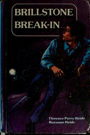 Cover of: Brillstone break-in