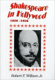 Cover of: Shakespeare in Hollywood, 1929-1956