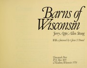 Cover of: Barns of Wisconsin