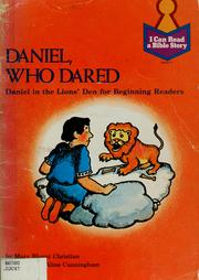 Cover of: Daniel, who dared