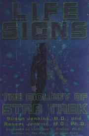 Cover of: Life signs: the biology of Star Trek