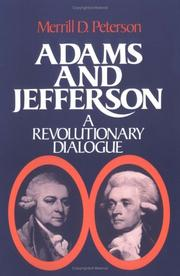 Cover of: Adams and Jefferson