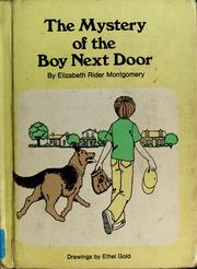 Cover of: The mystery of the boy next door