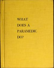 Cover of: What does a paramedic do?
