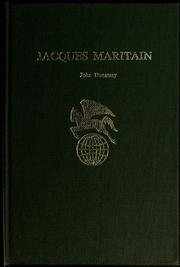 Cover of: Jacques Maritain