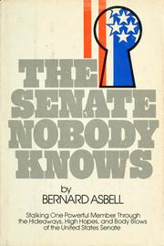 Cover of: The Senate nobody knows