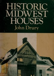Cover of: Historic Midwest houses