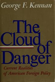 Cover of: The cloud of danger