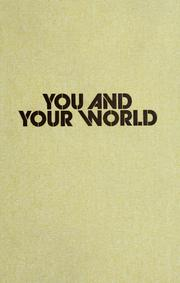 Cover of: You & your world