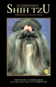 Cover of: Dr. Ackerman's book of Shih Tzu