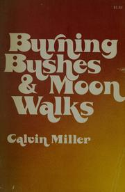 Cover of: Burning bushes & moon walks