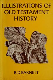 Cover of: Illustrations of Old Testament history