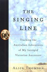 Cover of: The singing line