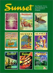 Cover of: Sunset magazine