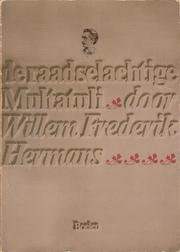 Cover of: De raadselachtige Multatuli
