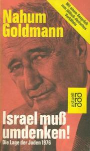 Cover of: Israel muss umdenken!
