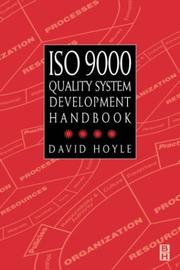 Cover of: ISO 9000 quality systems development handbook