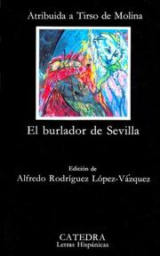 Cover of: Burlador de Sevilla