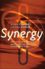Cover of: Synergy