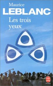 Cover of: Les trois yeux