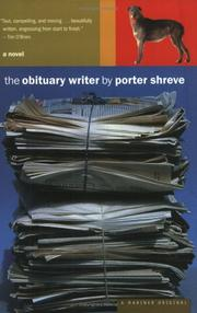Cover of: The obituary writer