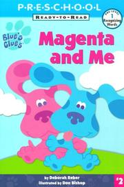 Cover of: Magenta and me