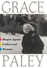 Cover of: Begin again: Collected Poems