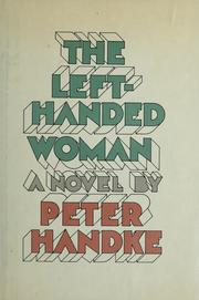 Cover of: The left-handed woman