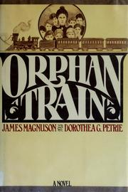 Cover of: Orphan train