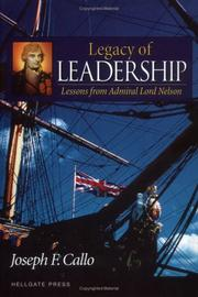 Cover of: Legacy of leadership