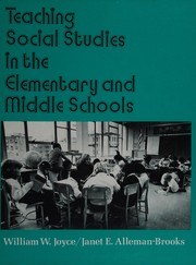 Cover of: Teaching social studies in the elementary and middle schools