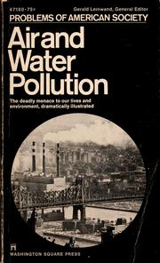 Cover of: Air and water pollution