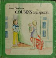 Cover of: Cousins are special