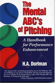 Cover of: The mental ABC's of pitching