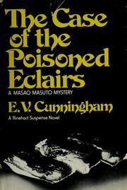 Cover of: The case of the poisoned eclairs