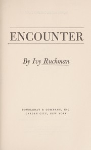 Cover of: Encounter