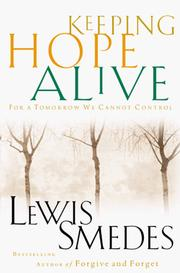 Cover of: Keeping hope alive