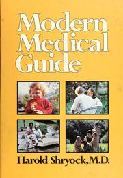 Cover of: Modern medical guide