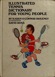 Cover of: Illustrated tennis dictionary for young people